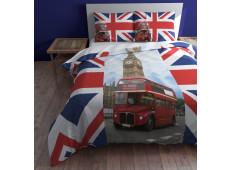 Sleep Time London Double Decker Dekbedovertrek 240x200/220 | Dekbedovertrek